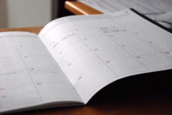 Keep track of bills on a calendar